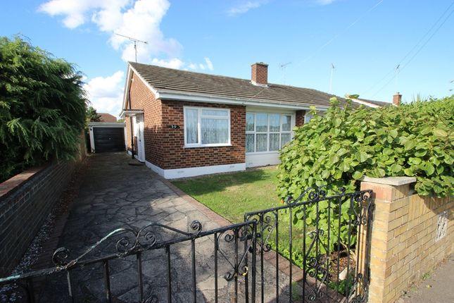 Thumbnail Semi-detached bungalow for sale in Croft Road, Benfleet