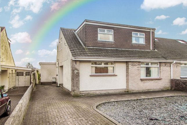 Thumbnail Bungalow to rent in Pwll Evan Ddu, Coity, Bridgend