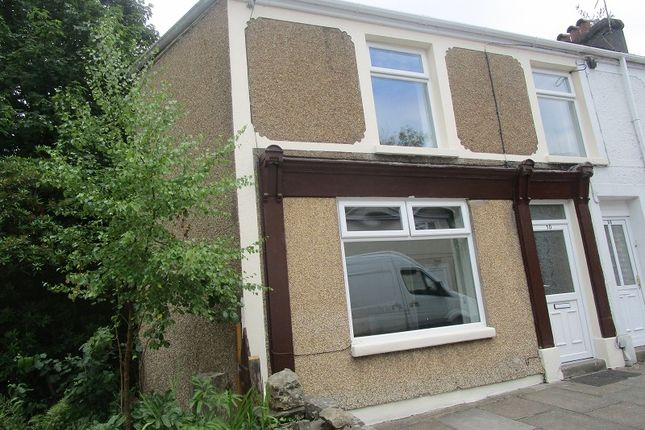 Thumbnail End terrace house to rent in Gurnos Road, Ystalyfera, Swansea.