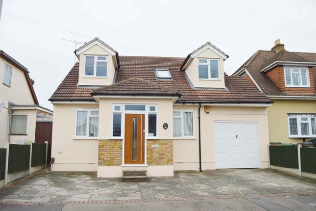 Thumbnail Detached house for sale in Greenway, Harold Wood, Romford