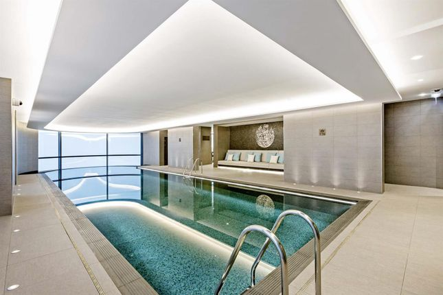 Thumbnail Flat to rent in Tower Two, The Corniche, 23 Albert Embankment, London