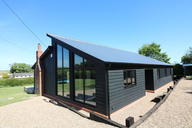Thumbnail Detached bungalow to rent in Northbourne Road, East Studdal, Dover