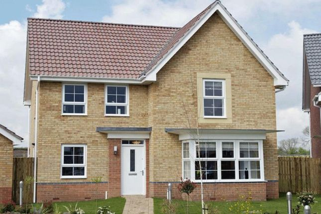 "Thumbnail Detached house for sale in ""Cambridge"" at Fen Street, Brooklands, Milton Keynes"