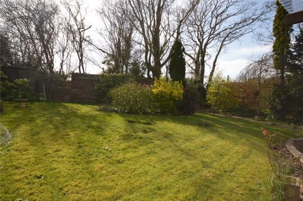 Rear Garden of The Marles, Exmouth, Devon EX8