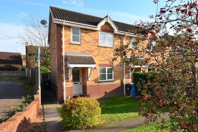 Thumbnail Semi-detached house to rent in Saundersfoot Way, Oakwood, Derby