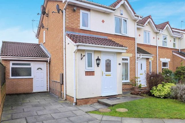 Thumbnail Terraced house for sale in Brightwater Close, Whitefield, Manchester