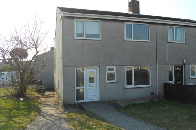 Thumbnail Semi-detached house to rent in Cribbwr Square, Kenfig Hill