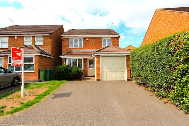 Thumbnail Detached house for sale in Murby Way, Thorpe Astley, Braunstone, Leicester