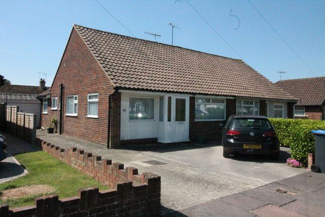 Thumbnail Semi-detached bungalow for sale in Hurley Road, Salvington