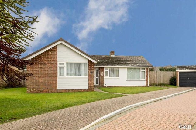 Thumbnail Detached bungalow for sale in Downs Way, Sellindge, Ashford
