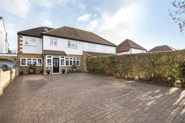 Thumbnail Semi-detached house for sale in Hercies Road, Hillingdon, Middlesex