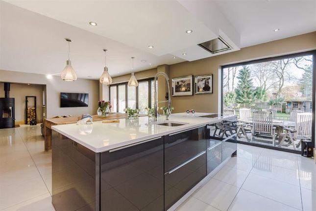 Thumbnail Detached house for sale in Woodstock Drive, Worsley, Manchester