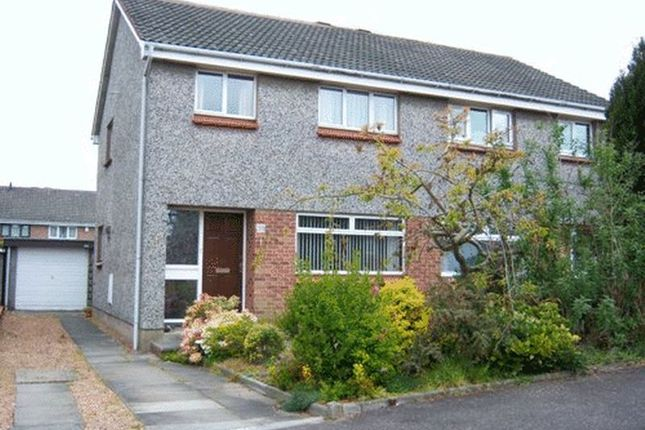 Thumbnail Semi-detached house to rent in Canmore Gardens, Kirkcaldy