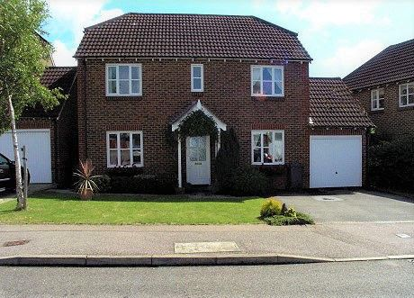 Thumbnail 4 bed detached house to rent in St Michaels Close, Stone Cross