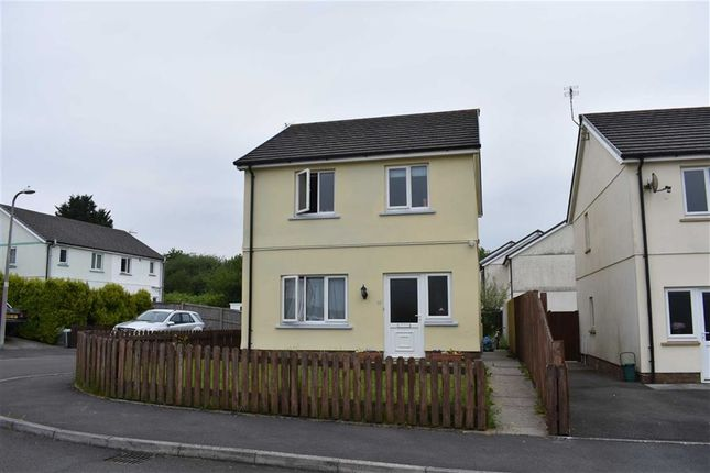Thumbnail Detached house for sale in Ffynnon Y Waun, Ponthenry, Llanelli