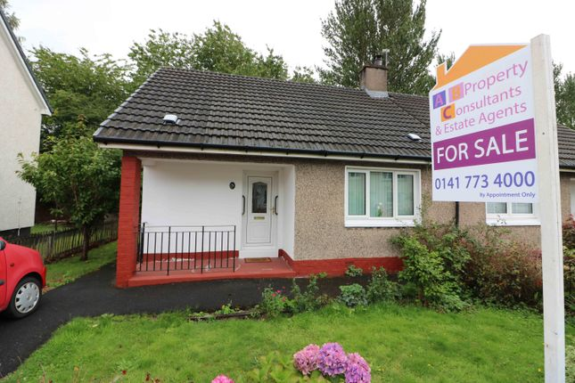 Thumbnail Semi-detached bungalow for sale in Estate Road, Carmyle