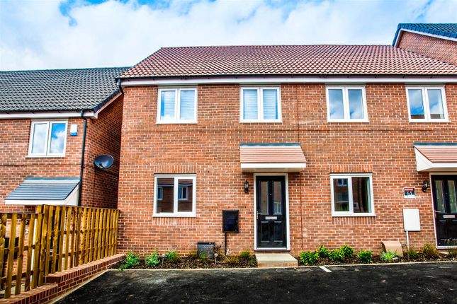 Thumbnail Semi-detached house to rent in Mandalay Road, Pleasley, Mansfield