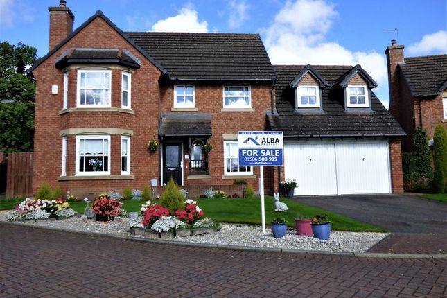 Thumbnail Detached house for sale in 5 Bedroom Detached Home, Westcroft Court, Livingston