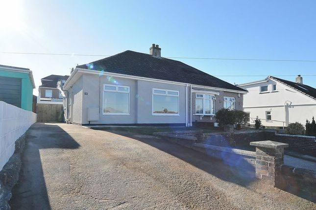 Thumbnail Semi-detached bungalow for sale in Higher Mowles, Plymouth