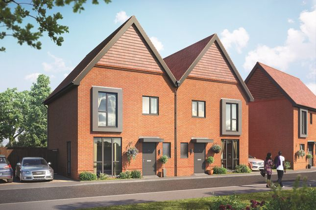 """Thumbnail Terraced house for sale in """"Drayton"""" at Old Wokingham Road, Crowthorne"""