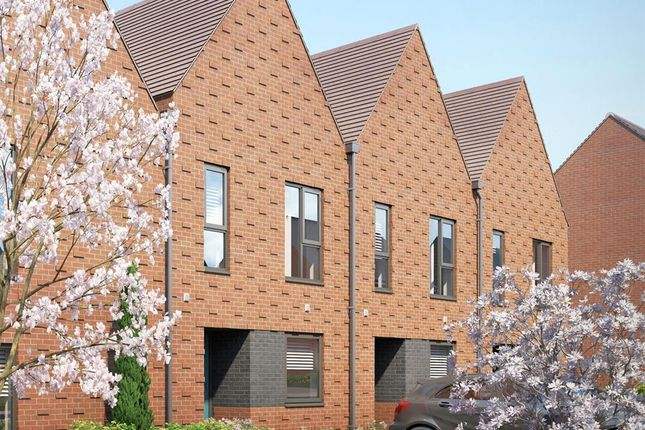 Thumbnail Terraced house to rent in Milestone Road, Newhall, Harlow