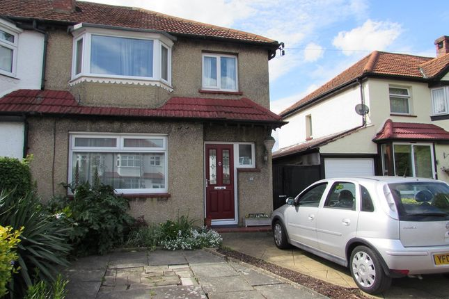 3 bed semi-detached house to rent in Brookfield Avenue, Sutton