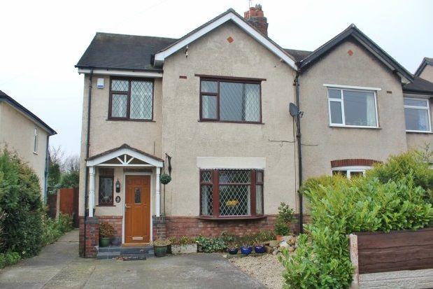 Thumbnail Semi-detached house to rent in East Avenue, Stockton Heath