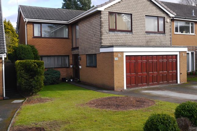 Thumbnail Detached house for sale in Monwood Grove, Off Alderbrook Rd, Solihull