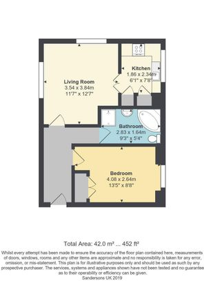 Floor Plan of Willoughby Court, St Johns Lane, Canterbury CT1