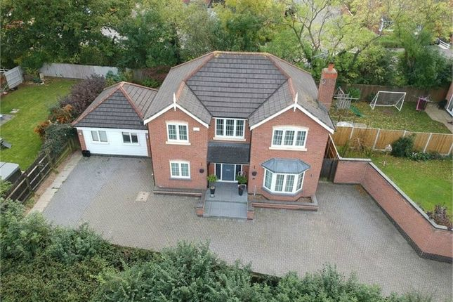 Thumbnail Detached house for sale in Spinner Close, Broughton Astley, Leicester