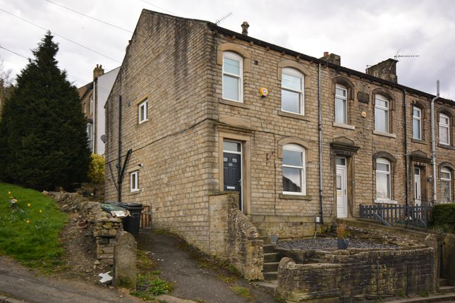 3 bed end terrace house for sale in Manchester Road, Linthwaite, Huddersfield HD7