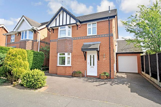 Thumbnail Detached house to rent in Gilderdale Way, Oakwood, Derby