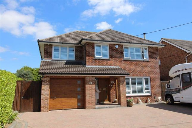 Thumbnail 4 bed detached house for sale in Barton Drive, Barton On Sea, New Milton