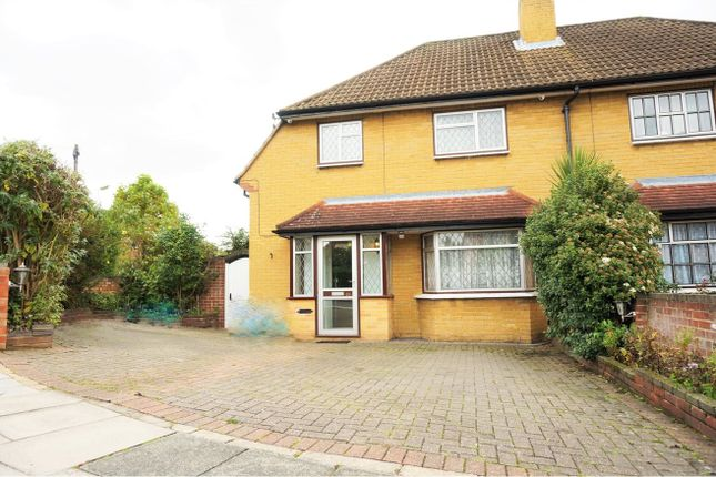 Thumbnail Semi-detached house for sale in Faygate Crescent, Bexleyheath
