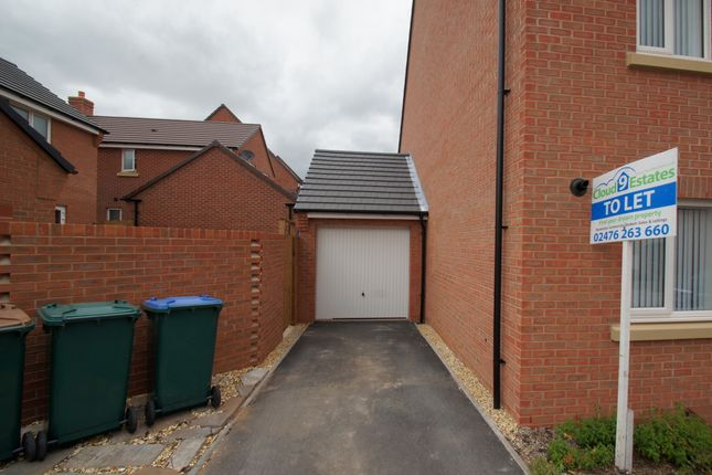Thumbnail End terrace house to rent in Signals Drive, Coventry