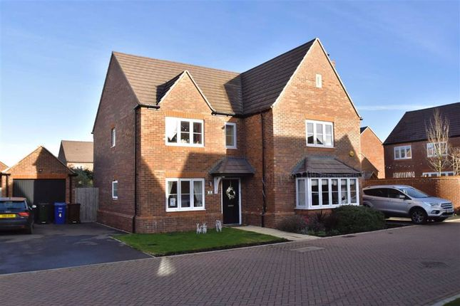 Thumbnail Detached house for sale in Corbett Close, Upper Heyford, Oxon