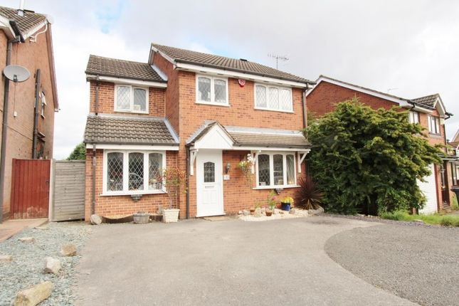 Thumbnail Detached house to rent in Hatton Gardens, Nuthall, Nottingham