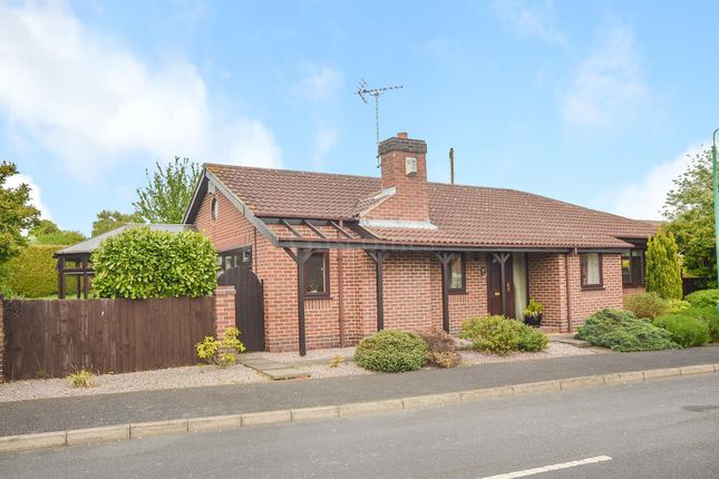 Thumbnail Detached bungalow for sale in Broad Close, Woodborough, Nottingham