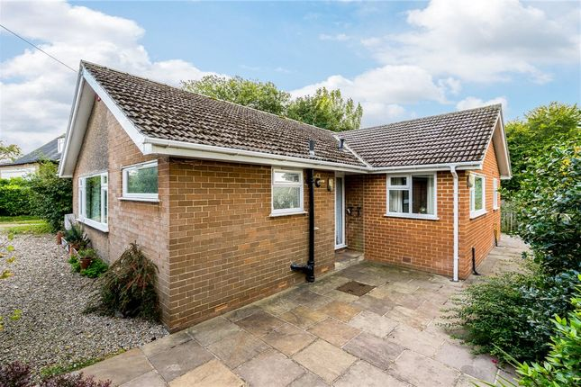 Thumbnail Detached bungalow for sale in Whitebeams, Wormald Green, Harrogate, North Yorkshire