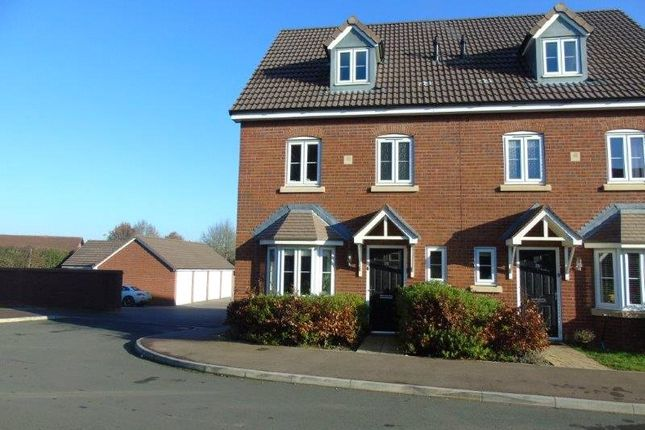 Thumbnail Semi-detached house for sale in Beamhouse Drive, Ross-On-Wye, Herefordshire