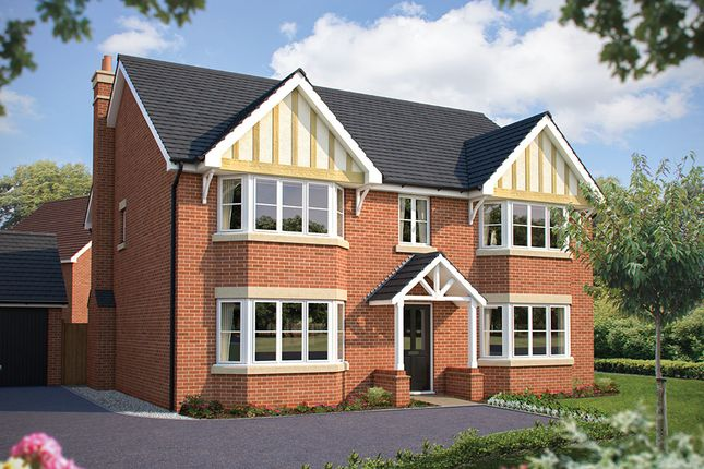 "Thumbnail Detached house for sale in ""The Ascot"" at Bromham Road, Bedford"
