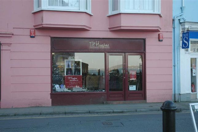 Commercial property for sale in High Street, Tenby, Pembrokeshire
