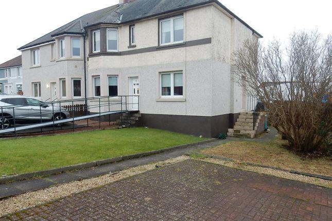 Thumbnail Flat to rent in Glasgow Road, Wishaw