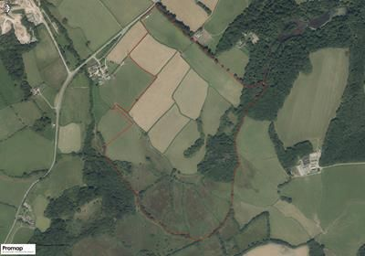 Thumbnail Land for sale in Land At Rhydhalog Farm, Cowbridge Road, Talygarn, Cowbridge