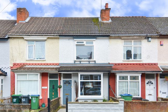 Thumbnail Terraced house for sale in Park Road, Bearwood