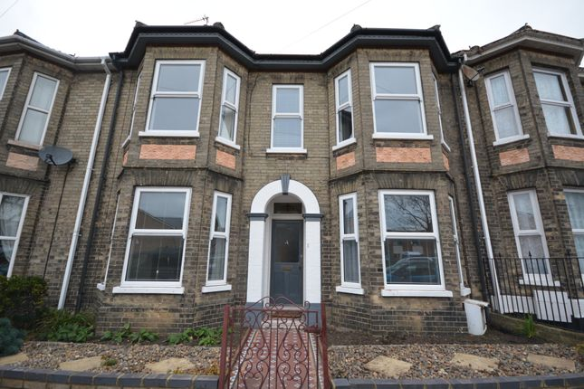 Thumbnail Terraced house to rent in Alexandra Road, Lowestoft, Suffolk