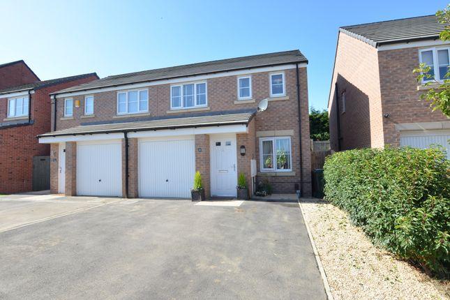 Semi-detached house in    Kestrel Road  Barnsley  South Yorkshire  Sheffield