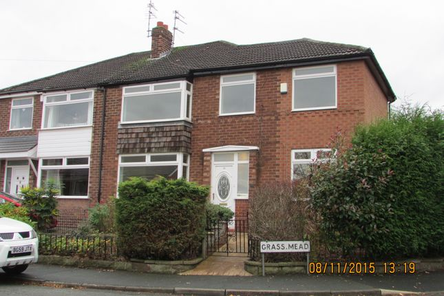 Thumbnail Semi-detached house to rent in Grass Mead, Denton