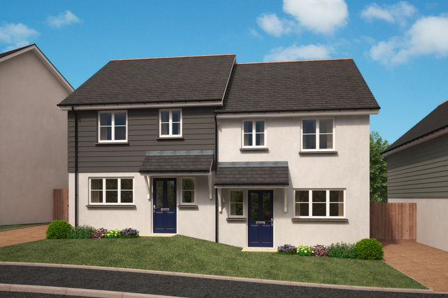 Thumbnail Semi-detached house for sale in Lariat At Chandler Park, Penryn