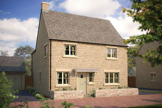 """Thumbnail Detached house for sale in """"The Henever"""" at Morecombe Way, Fairford"""